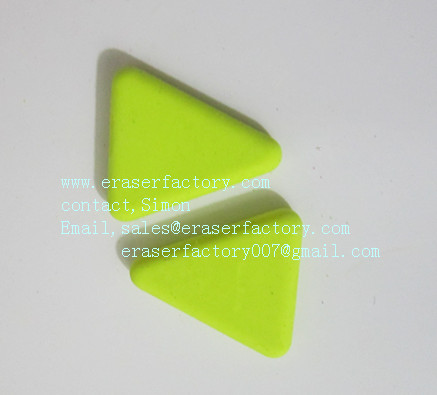 LXC20  mini trianglar erasers