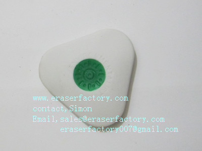 LXC19  button triangular erasers