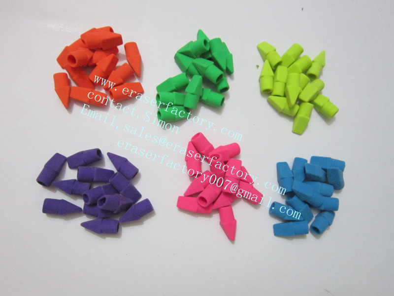 LXC22  mini beveled cap erasers