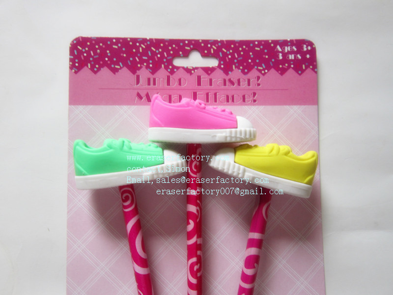 LXB144 shoes eraser toppers set