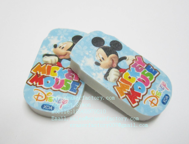 LXP96 Mickey Mouse Erasers